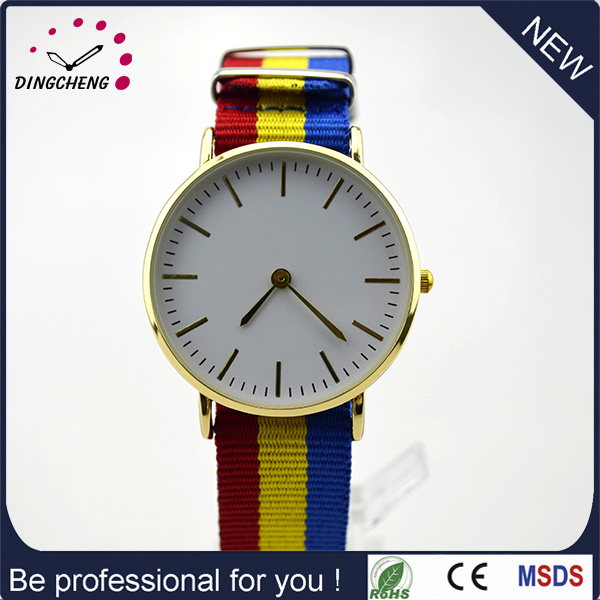 New Arrival 3ATM Waterproof Japan Movt Nylon Strap Watch (DC-1017) pictures & photos