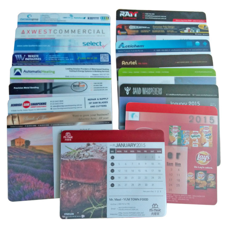 Mouse Pad Calendar for Office Supply pictures & photos