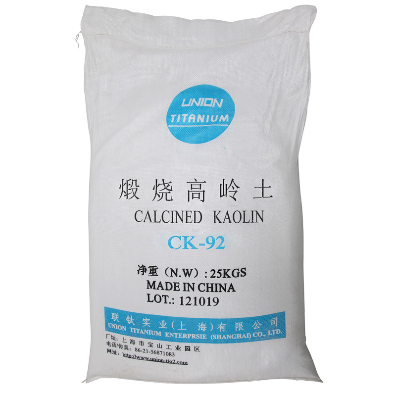 Calcined Kaolin-Refined Kaolin