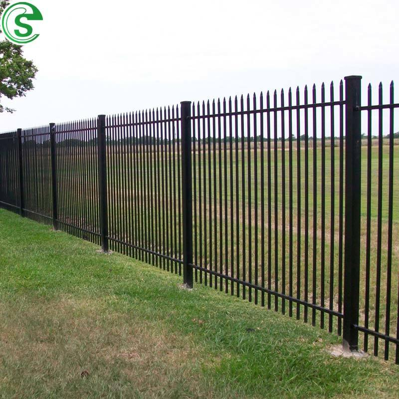 China Easily Assemble 7ft Powder Coated Palisade Fencing