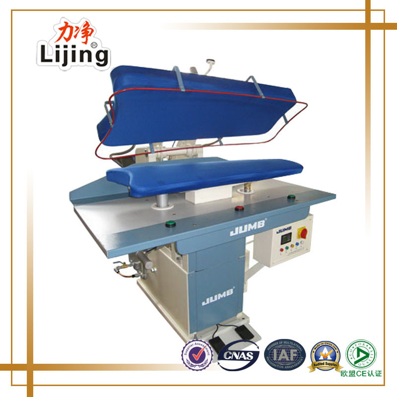 China Fully Automatic Laundry Equipment Steam Press Iron