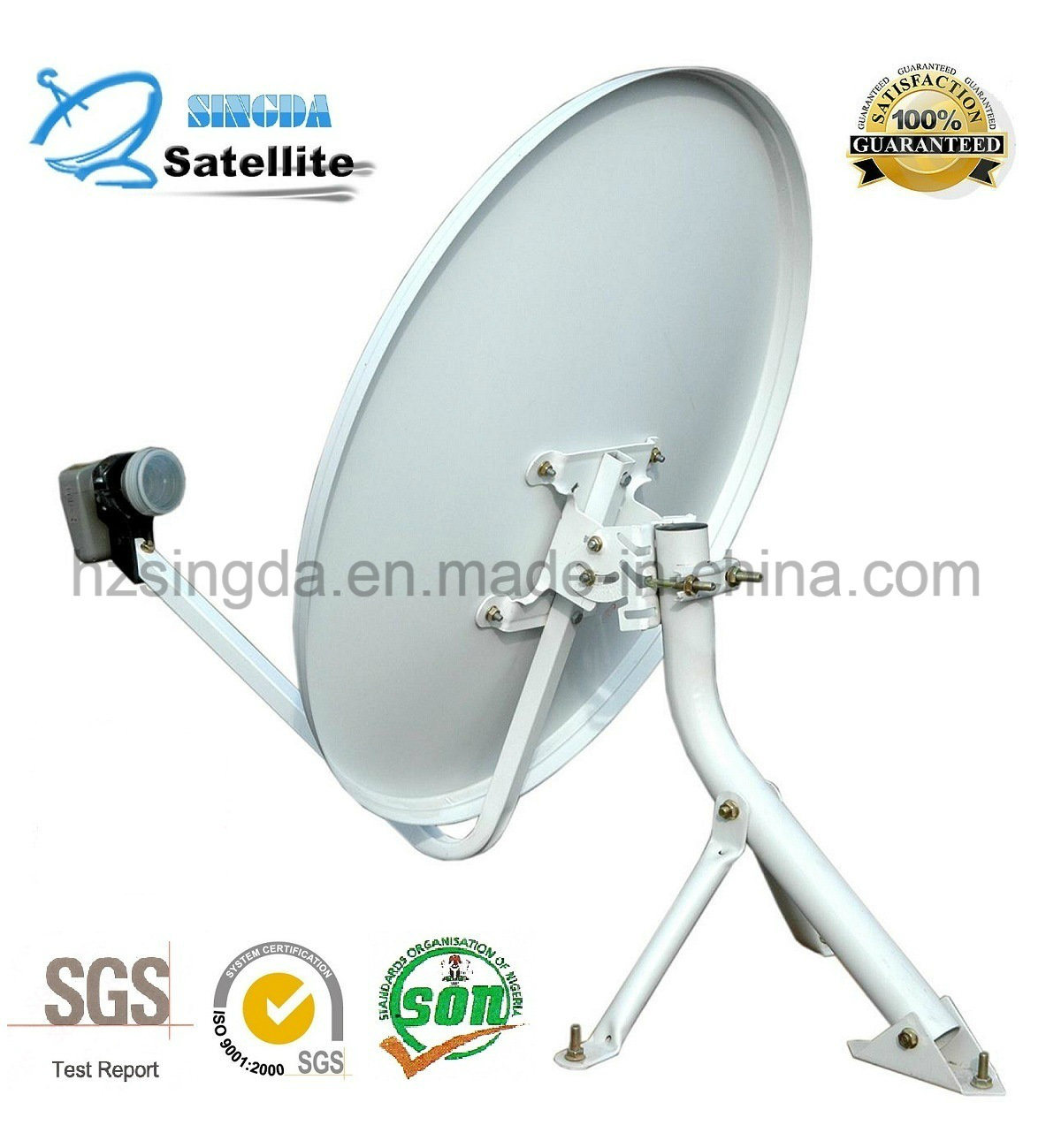 Outdoor TV antenna and satellite dish antenna with SGS Certification pictures & photos