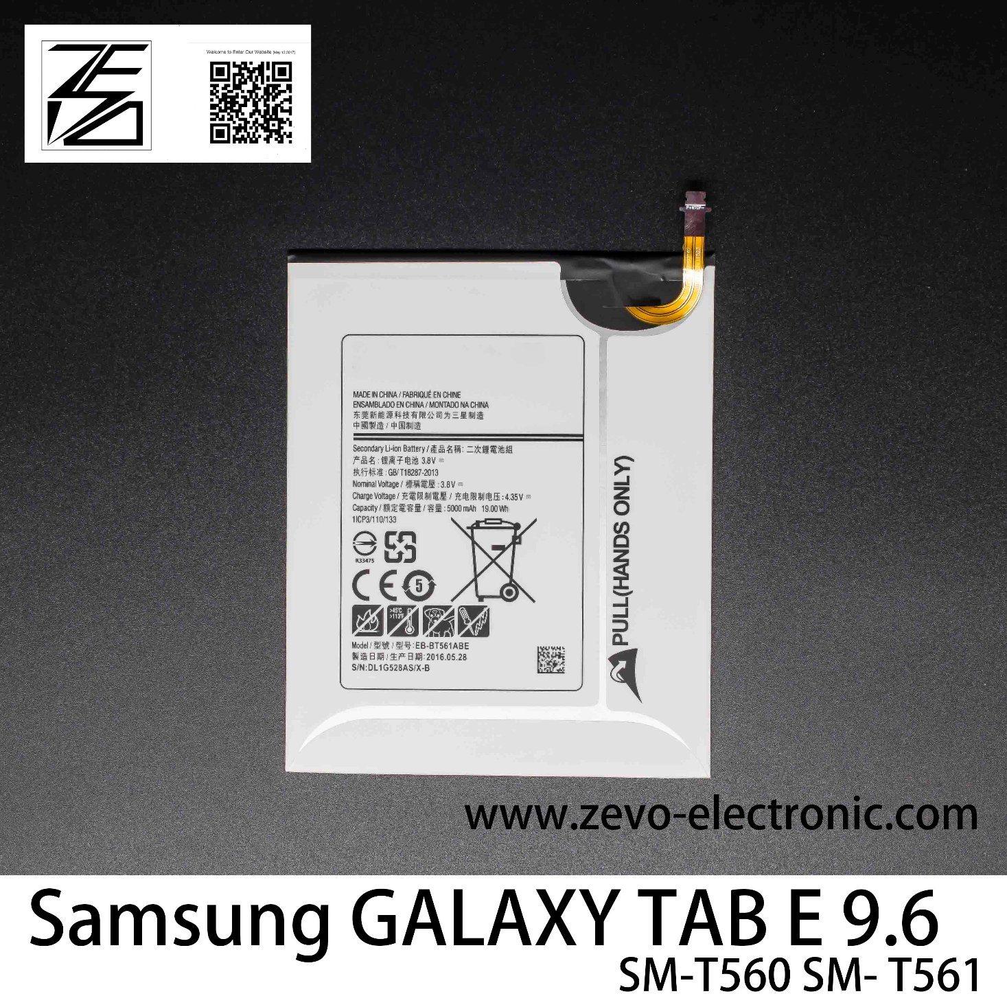 China 5000mah Battery 100 New Eb Bt561abe For Samsung Galaxy Tab E