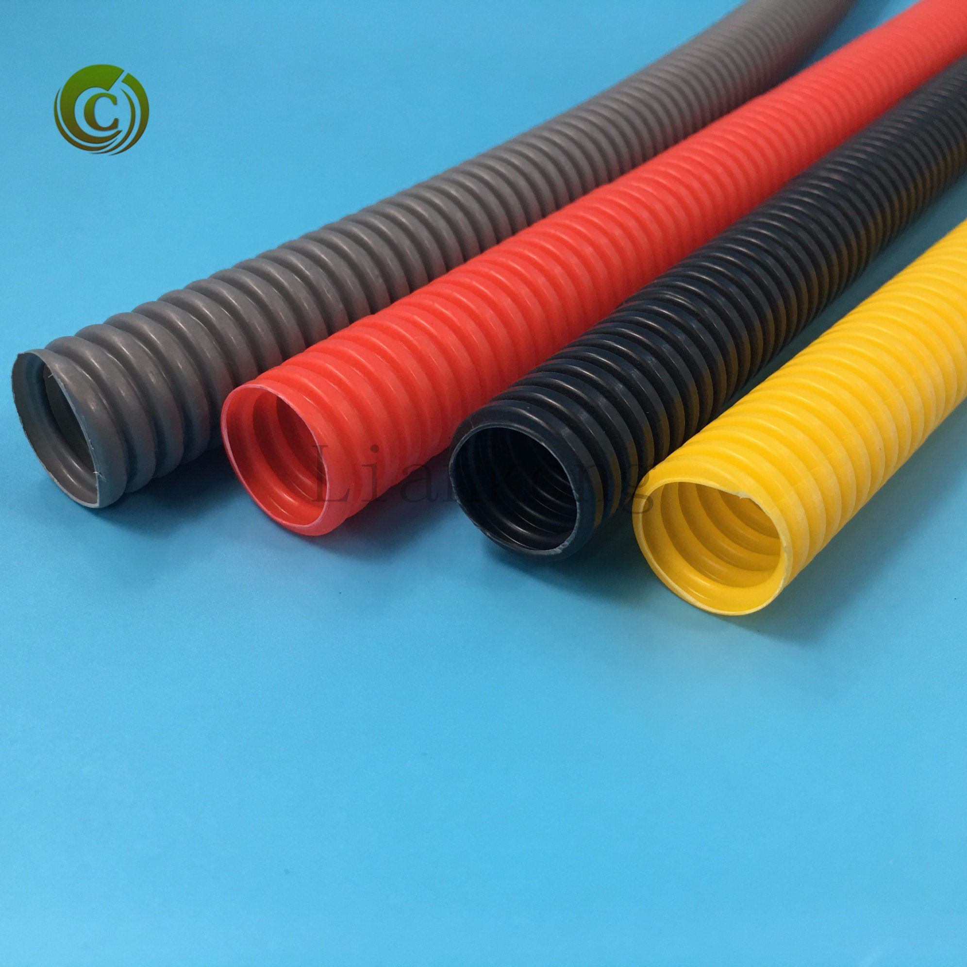 China 2018 Flexible Conduit Corrugated Pipe PVC Electrical Cable ...