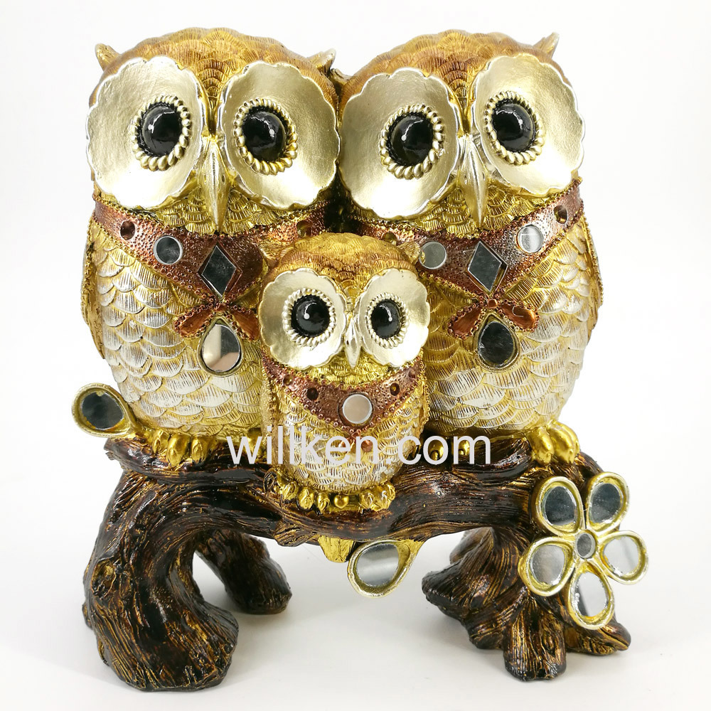 China New Indoor Decorative Statues/Lovely Owl Statues - China Owl ...