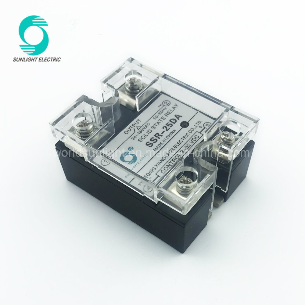 China Online Shop Ssr 25da 3 32vdc Input 24 480vac Output Dc Ac Solid State Relay Circuit Single Phase