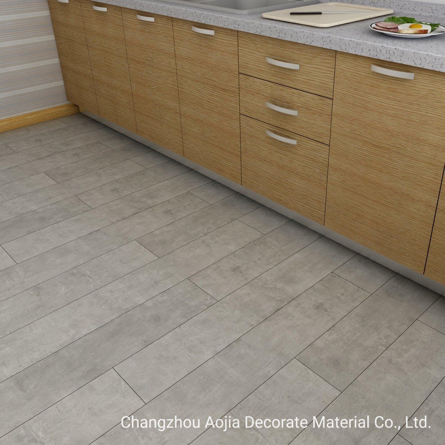 China 9.9mm Anti Scratch Spc Interlocking Vinyl PVC Flooring Tile ...
