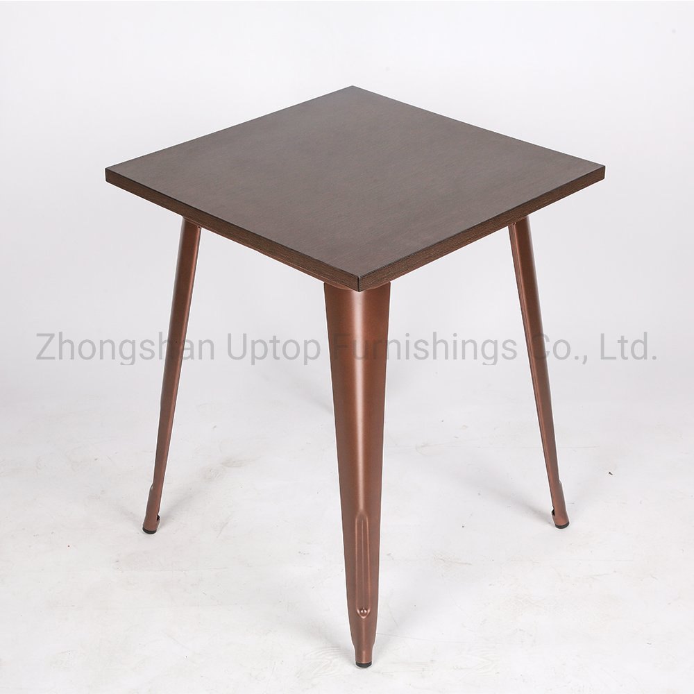 Hot Item Sp Rt616 Retro Furniture Vintage Rustic Wood Cafe Table Dining Coffee Restaurant Tables Chairs