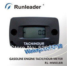 China IP 68 Record Max Rpm Tachometer Hour Meter Rpm Meter for