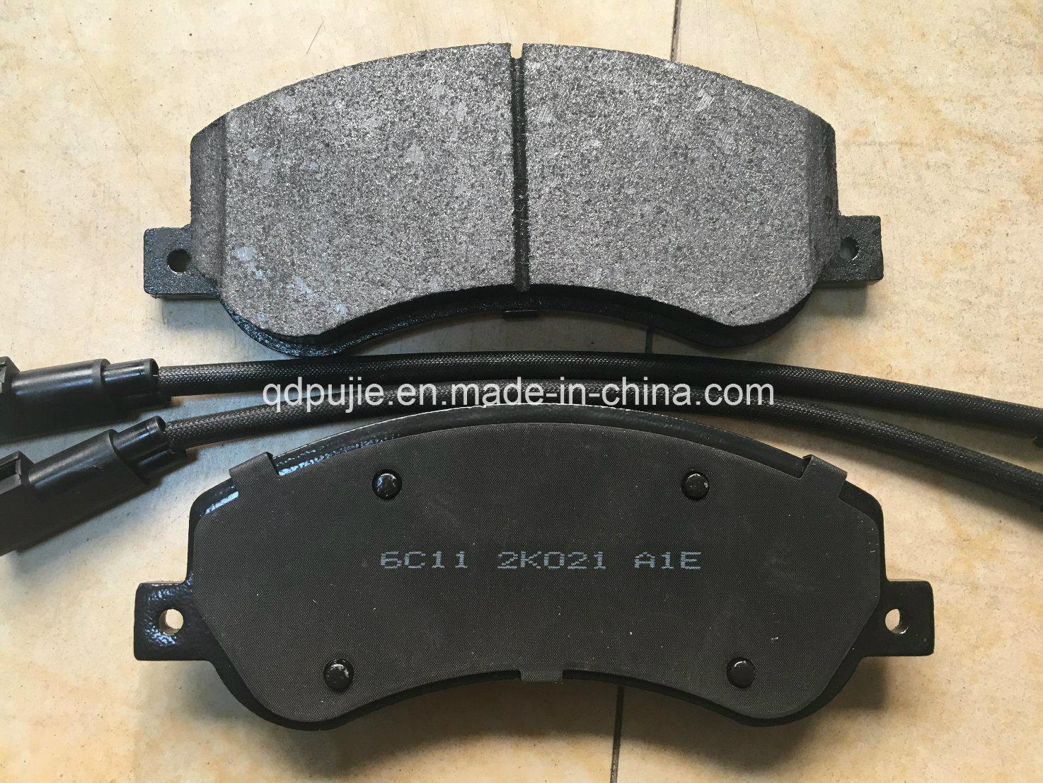 Car Brake Pads >> Hot Item Semi Metal Car Brake Pads For Vw