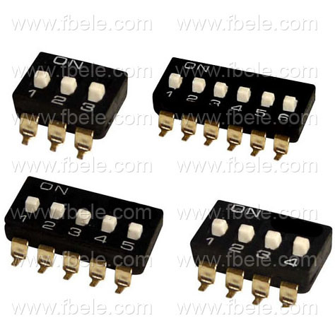SMT Switch/DIP Switch/Rocker Switch (SMT-02)