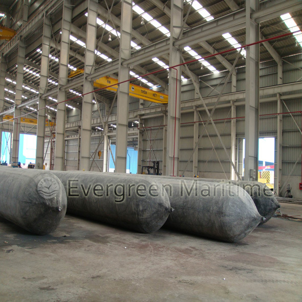 Floating Pneumatic Ship Launching Airbags Inflatable Ship Marine Rubber Airbags