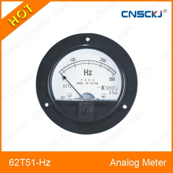 China 62t51 Hz Mounted Analog Frequency Meter China Panel Meter Analog Meter