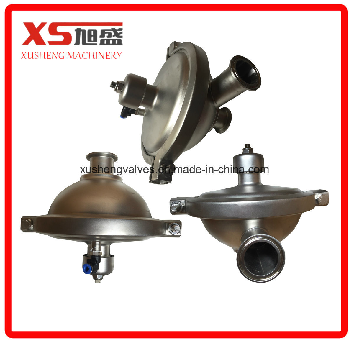 Stainless Steel Sanitary Grade Pressure Regulating Valve