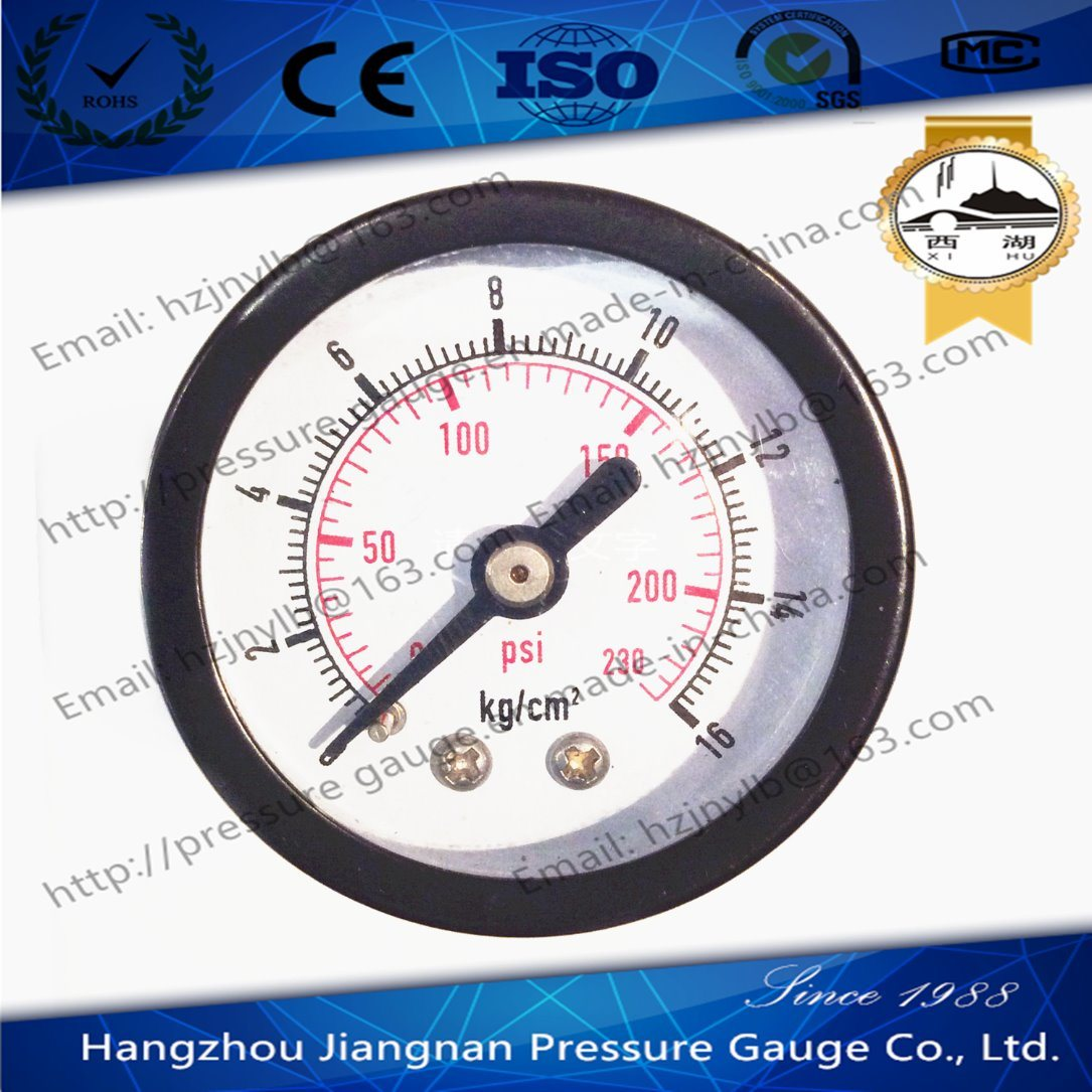 40mm 1.5′′ Axial Direction General Pressure Gauge-Air General Pressure Gauge