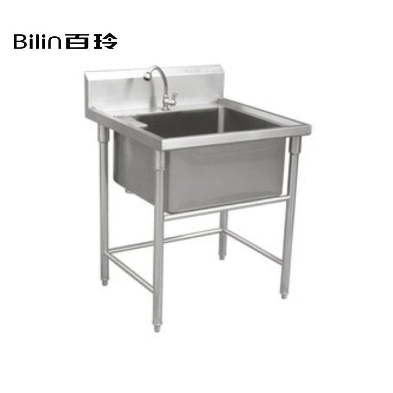 [Hot Item] Custom Stainless Steel Commercial Kitchen Sink Work Table
