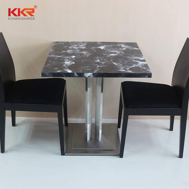 China Home Bar Table Fast Food Table Chair Set China Fast Food