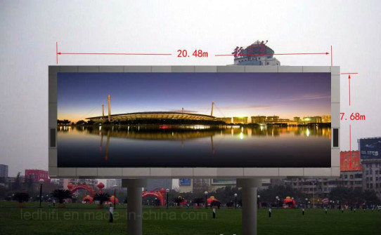 Outdoor/Indoor Full Color High Brightness LED Display Screen for Advertising Panel (P3, P4 P5, P6, P8, P10, P16) pictures & photos