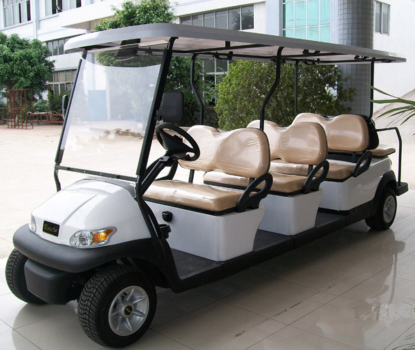8 Passengers Electric Sightseeing Car for Airport pictures & photos