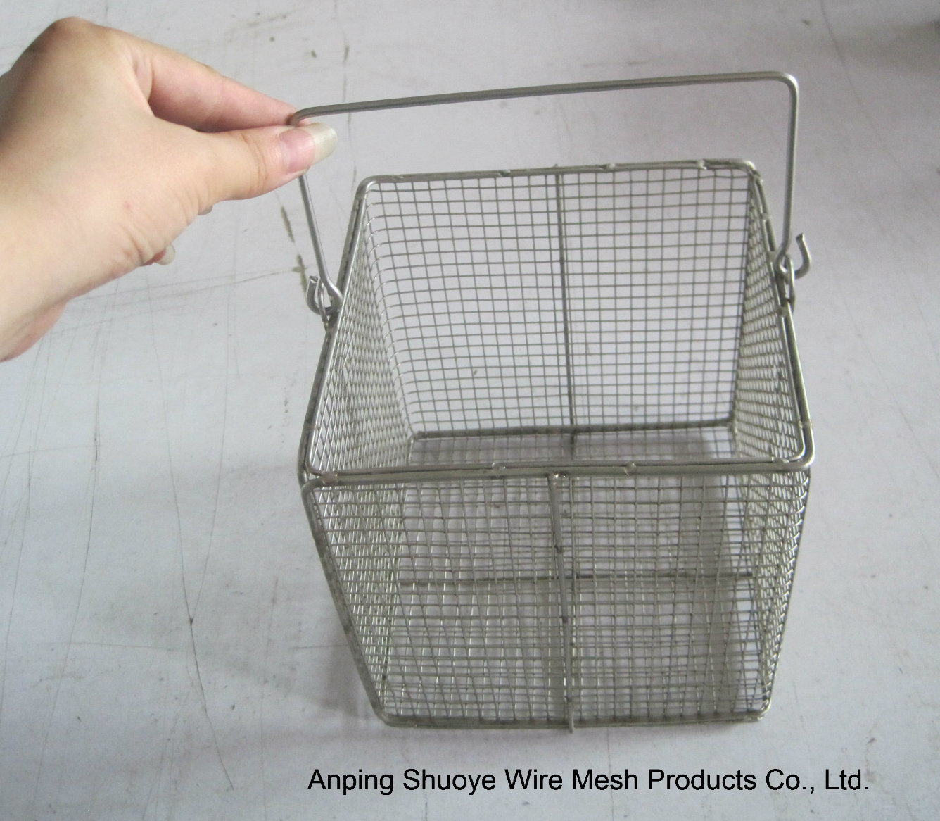 China Mini Wire Deep Fry Basket French Fries Baskets Wire Mesh ...