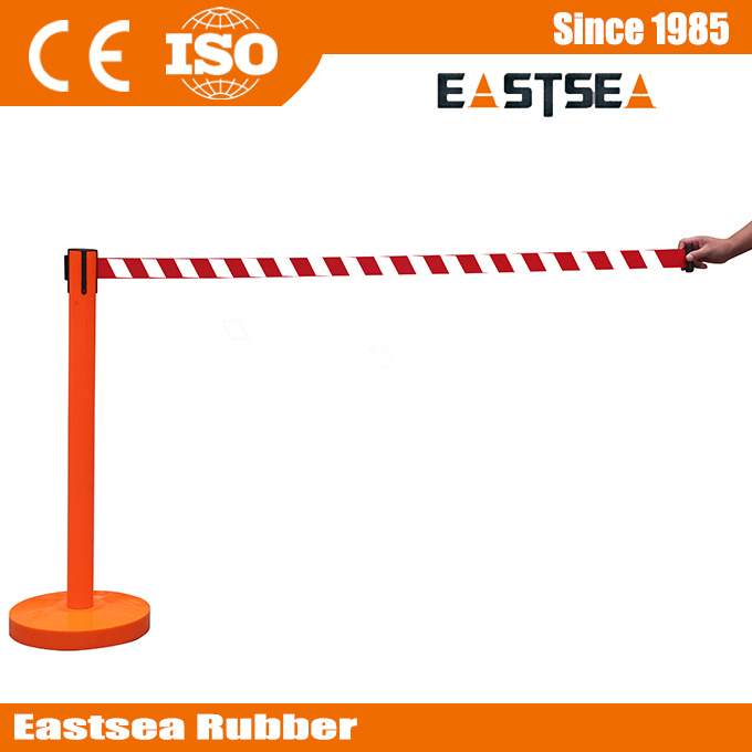 Queue Line Post Barrier Steel Retractable Crowd Control Stanchion pictures & photos