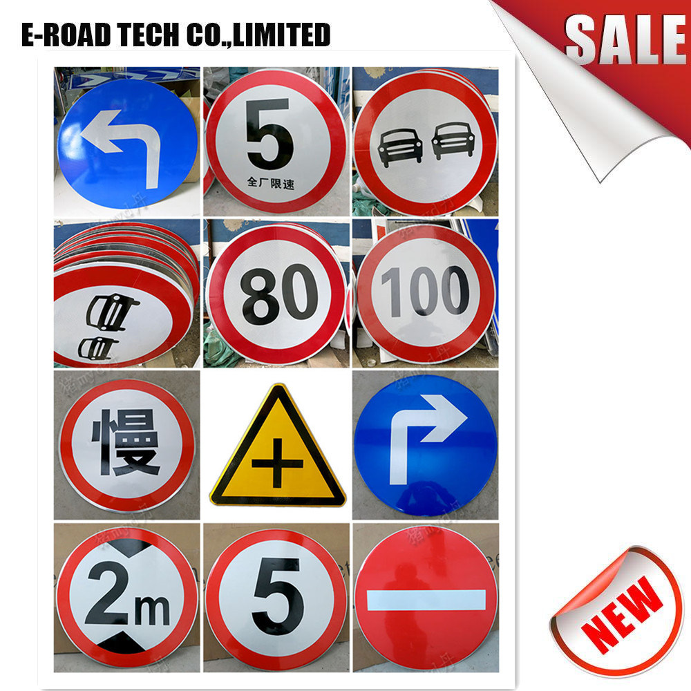 China custom wholesale price sign blanks road safety traffic sign highway signs china traffic signs street signs for sale