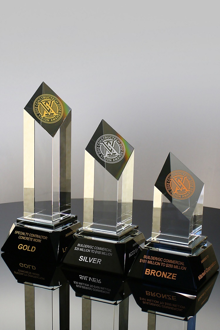 Wholesale Allotrope Crystal Award Trophy