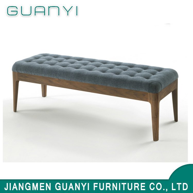 [Hot Item] 2019 Modern Wooden Furniture Bedroom Lounge Benches