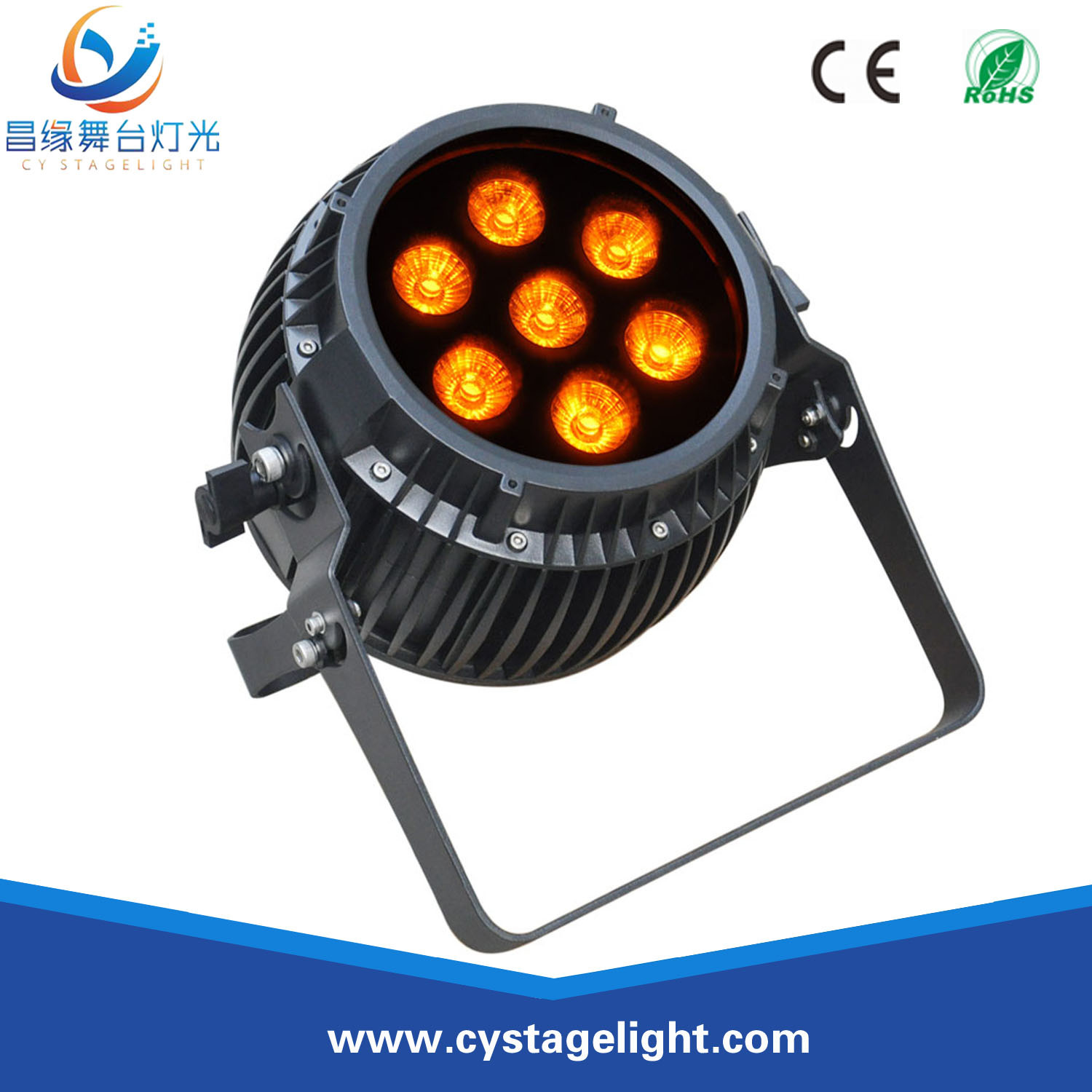 China 7x12w Rgbwauv 6in1 Outdoor