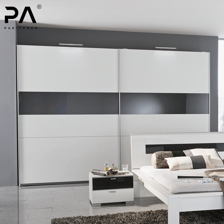 [Hot Item] China Supplier Manufacture Wall Mounted Wardrobe Cabinet Bedroom  Furniture Cloth Storage Cabinet