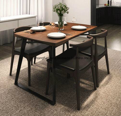 Hot Item Modern Wood Table High Quality Wod Dinner Table Wooden Restaurant Furniture Wood Furniture