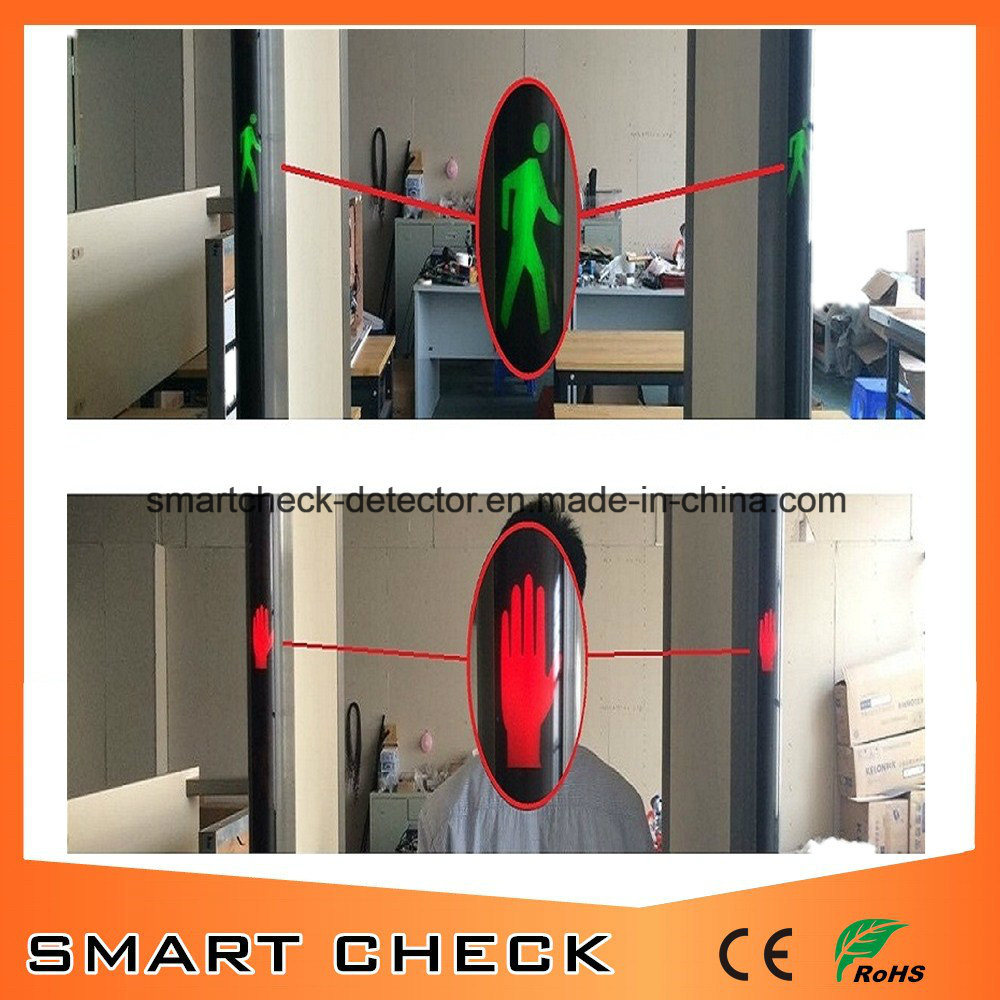 33 Zones Security Metal Detector Portable Metal Detector Walk Through Metal Detector