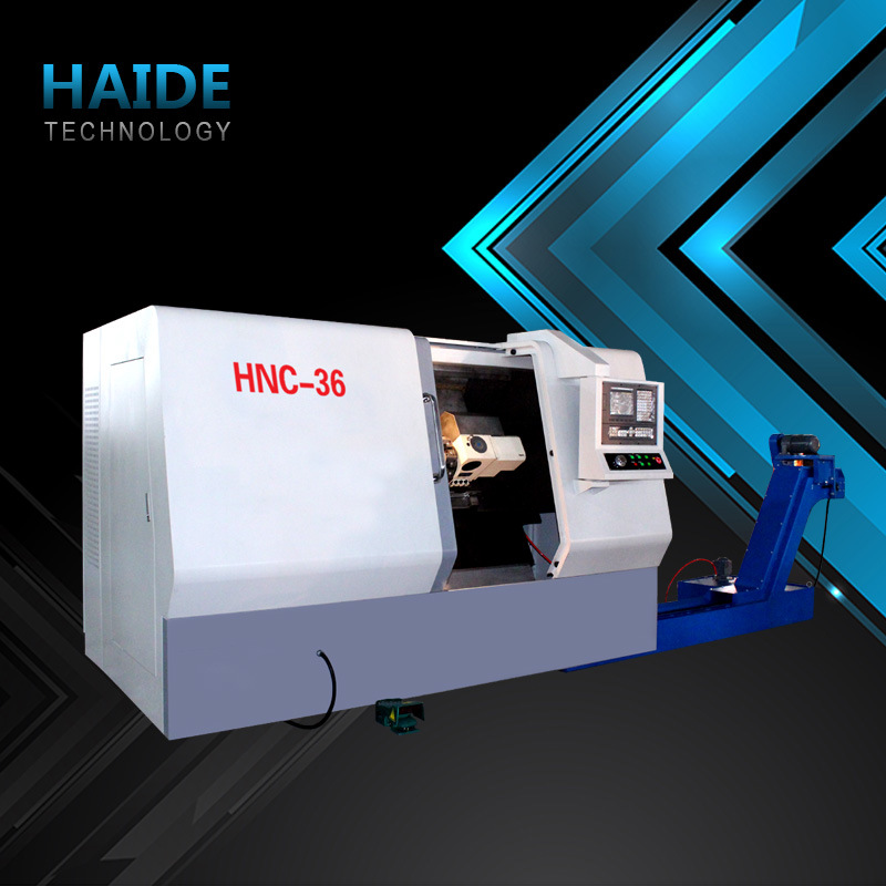Hnc-32 CNC Lathe Machine with Slant Bed (7)
