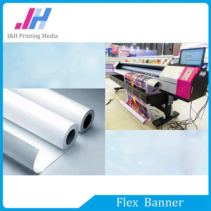 Digital Printing Glossy PVC Frontlit Flex Banner (440GSM) pictures & photos