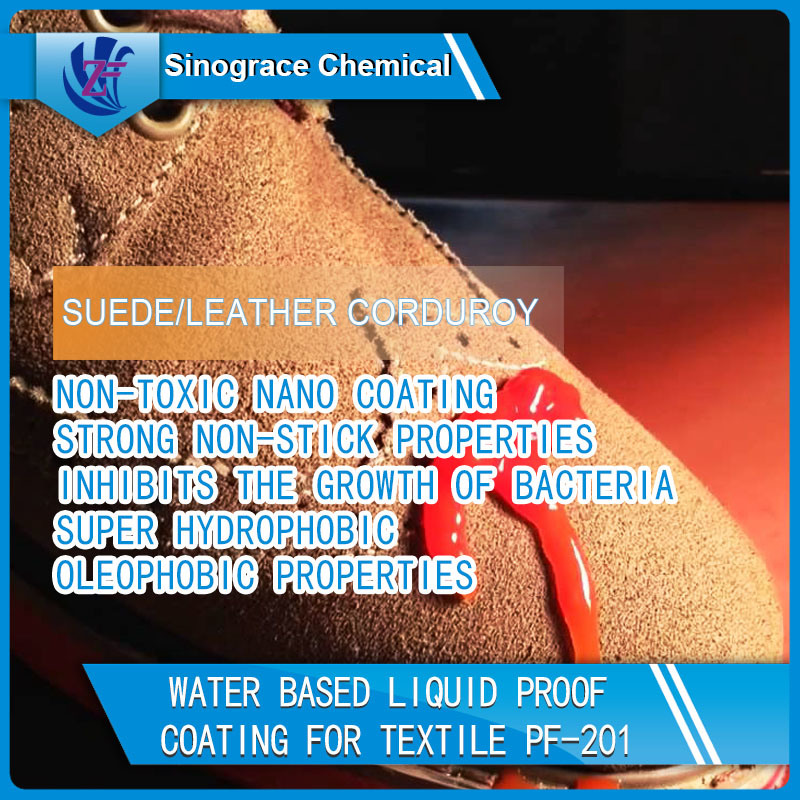Water Based Superhydrophobic Coating for Textile