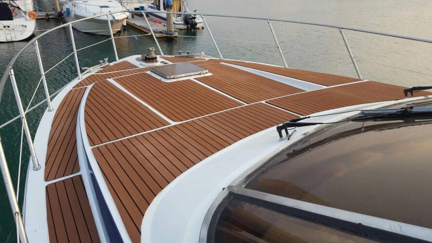Eva Foam Faux Teak Sheet Boat Yacht