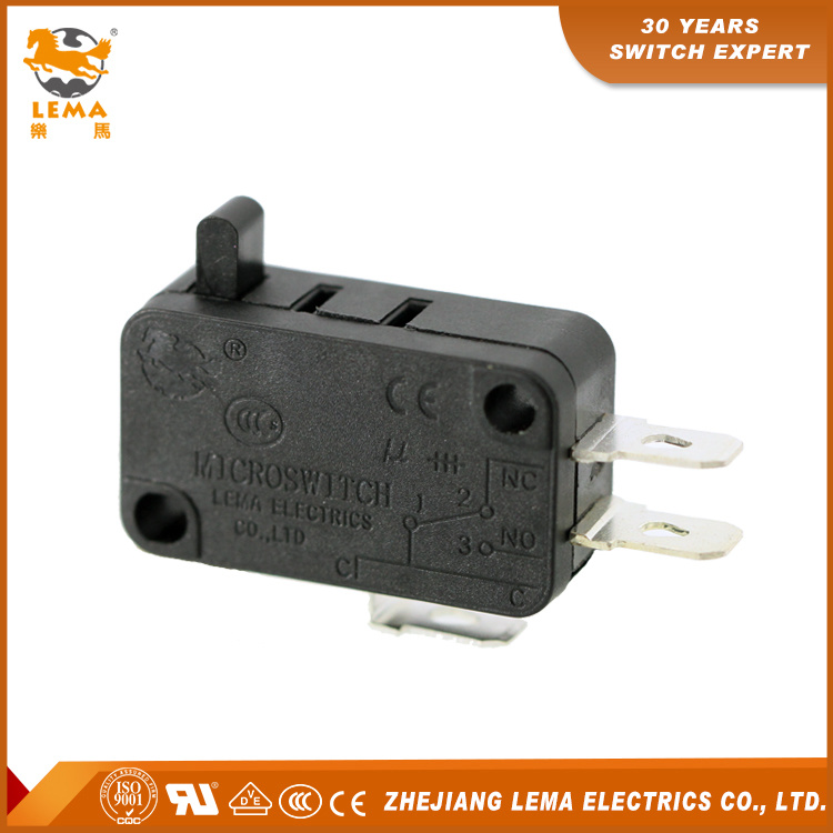 China Lema Kw7-02 Three Quick Connect Terminals CCC Ce UL VDE Micro ...