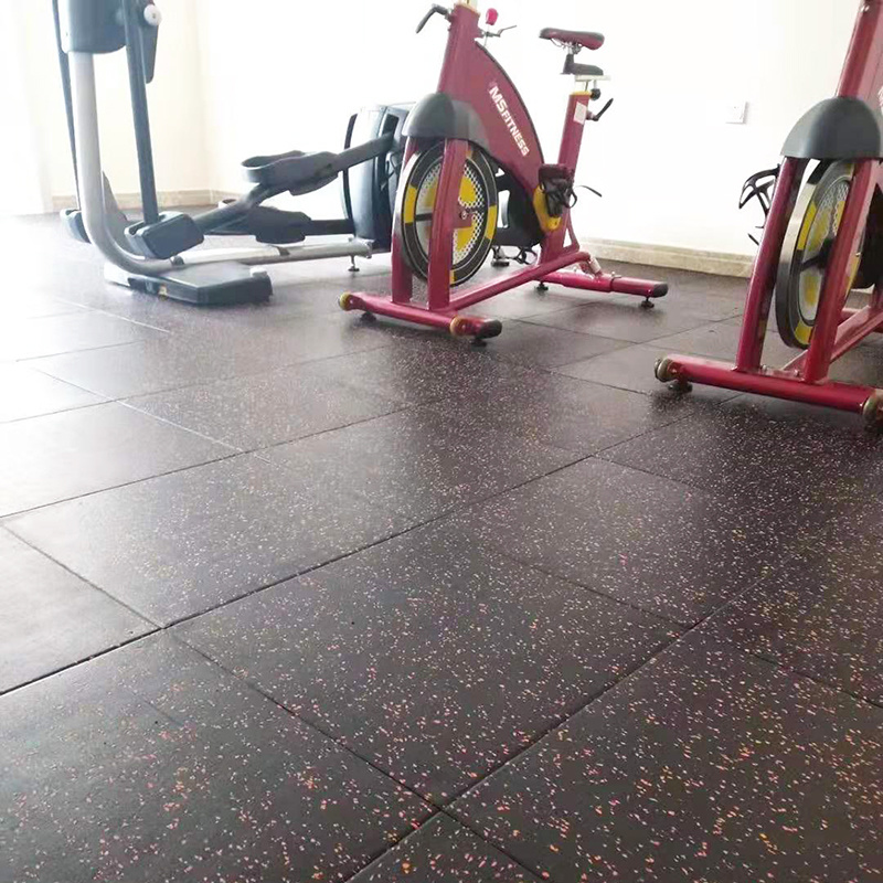 China Indoor Rubber Flooring Gym