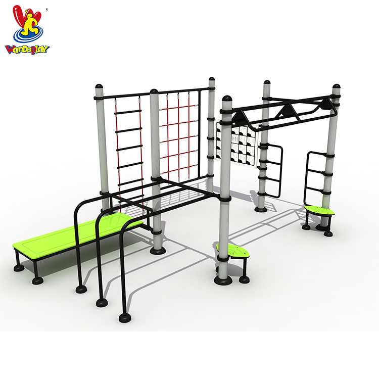 GS TUV Standard Total Body Strength Training Gym Machine Sports Goods Workout Street Station Monkey Bar Multi Outdoor Fitness Equipment