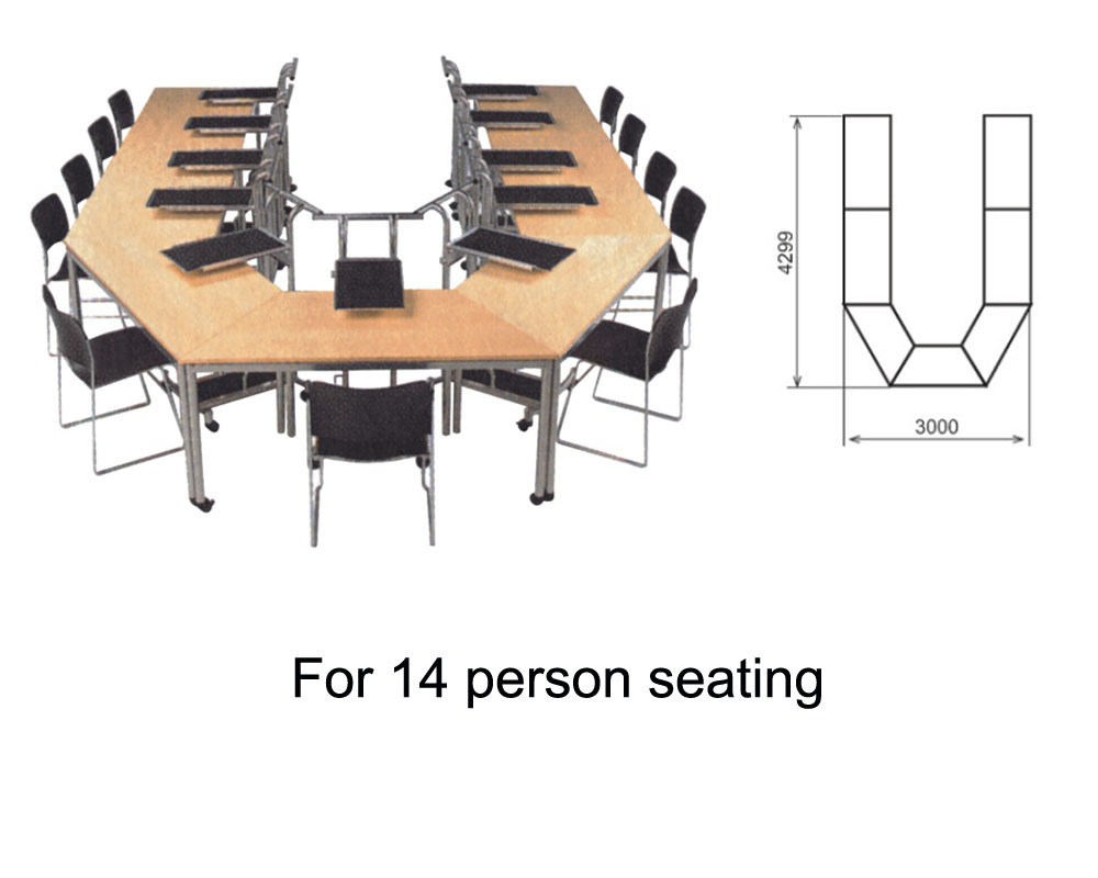 China Combined Table (48 Person) - China Table, Combined Table