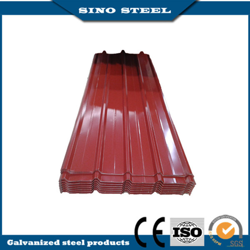 840 Type Corrugated Prepainted Steel Roofing Sheets