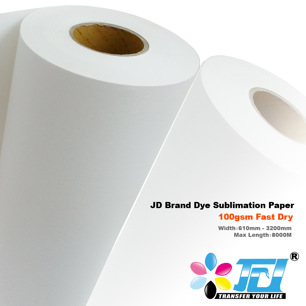 [Hot Item] Jd Dye Sublimation Paper From China