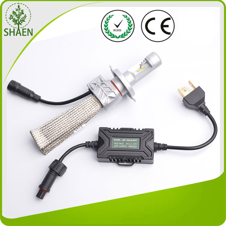 Hot Sale Fanless 4000lm Philips Car LED Headlight