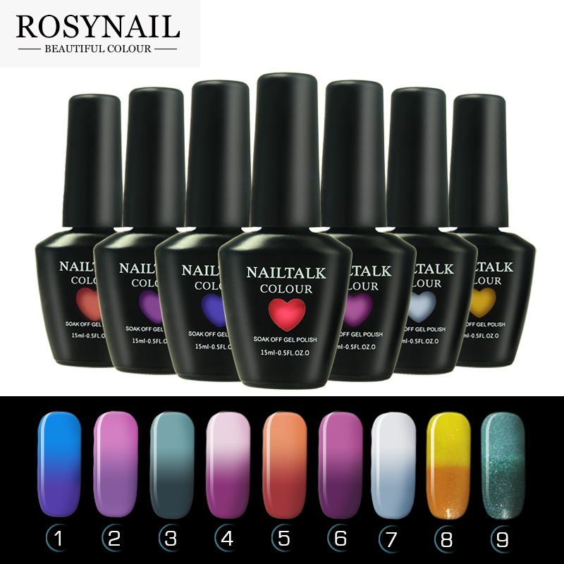China High Quality Professional UV Gel Color Changing Nail Polish ...