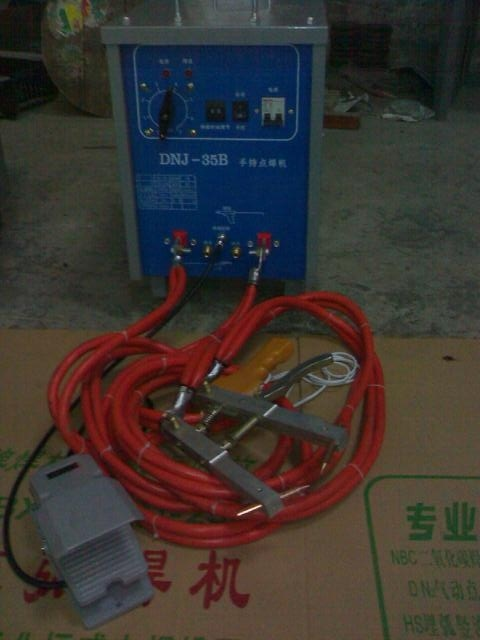 Hand Held Movable Spot Welder Hand Held Spot Welding Machine pictures & photos