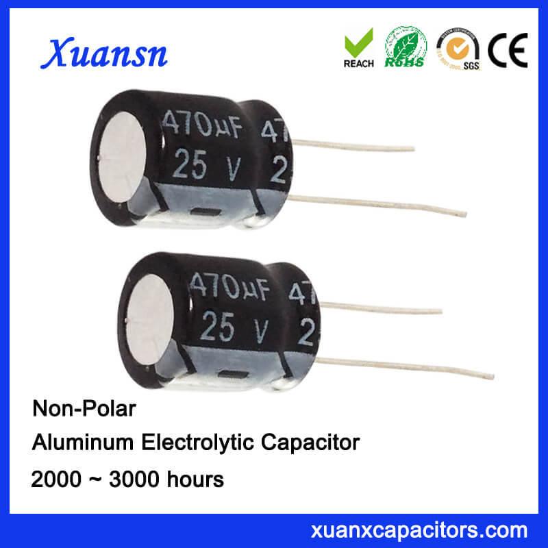 ELECTROLYTIC CAPACITOR 470 uF ten 25V Lot of 10