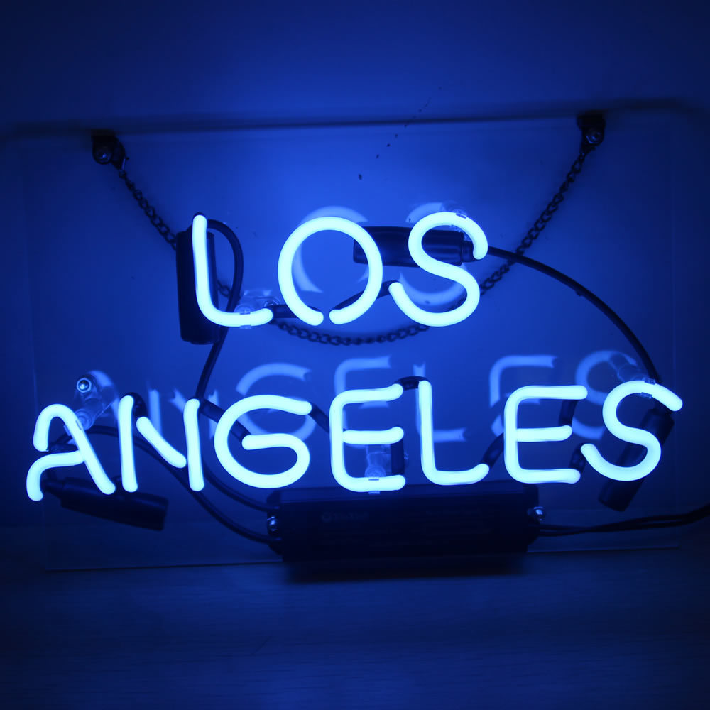 Hot Item Neon Signs Lights Los Angeles For Coffee Beer Bar Poster