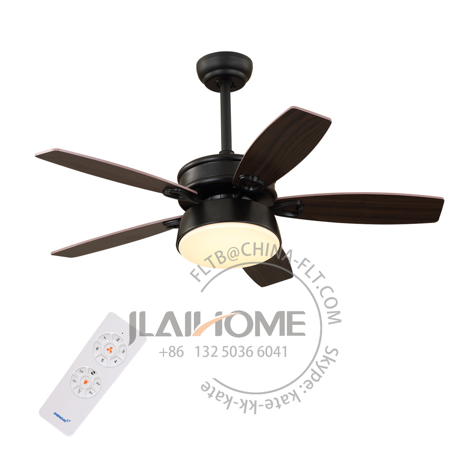 China New Design Bldc Ceiling Fan With Led Light Dc