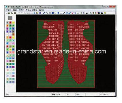 China Cad Software For Jacquard Design Of Warp Knitting Machine