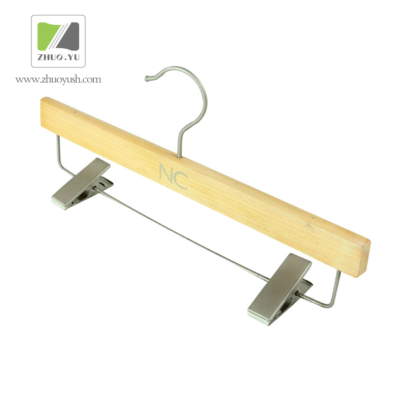 Hot Item Factory Price Lotus Wooden Bottom Garment Coat Hangers